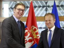 EU tells Serbia to stick to reforms for potential membership