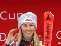 Olympic champ Shiffrin dominates slalom for 40th career win