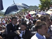 Attack against Serbian PM in Srebrenica, 3 people arrested