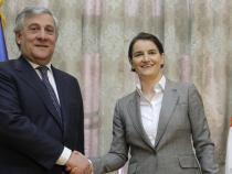 EU: Tajani in Belgrade, Serbia's membership possible by 2025