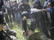 5 police reportedly injured in Kiev gay march clash