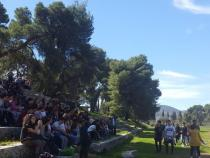 1,500 Italian students in Greece for 'pop philosophy'