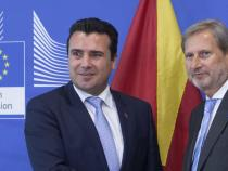 Macedonia: Hahn travels to Skopje to meet Zaev on June, 26th
