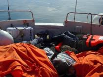 Greek coast guard rescues dozens of migrants stuck on islet
