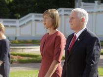 Pence holds talks with 3 Baltic presidents
