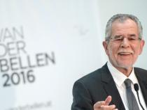 Austrian tv, Van der Bellen is the new president