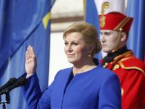 Croatia's first woman president inaugurated