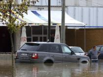Albanians evacuated after riverbanks overflow, flood areas
