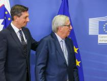 Juncker,Slovenia-Croatia border dispute has impact on the EU
