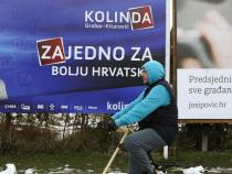 Croatia holds close presidential runoff vote