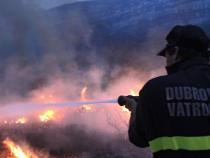 Tourists evacuated in Croatia amid massive wildfires