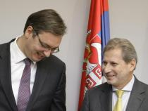 Balkans: Hahn, unification will be completed after accession