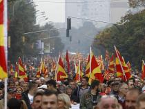 Thousands attend Macedonian opposition protest in Skopje