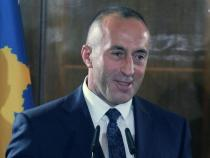 Neckties hung outside Kosovo PM's office to protest raise