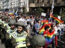 Thousands attend gay pride march in Ukraine's capital