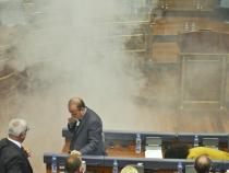 Kosovo political opposition disrupts Parliament works