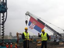 Serbia, first stone laid at 'Belgrade Waterfront'