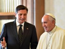Pope: 25-minute audience with Slovenia's president