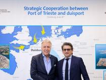Ports: Trieste, deal with Duisburg on trains and logistics