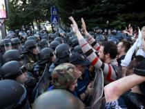 Macedonia, protests against pardoned politicians