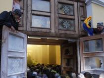 Ukraine: Saakashvili's supporters rally in Kiev