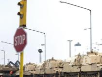 US tanks arrive in Germany for NATO mission in East Europe