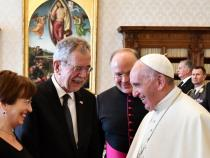 Pope received Austria's President, 25-minute audience