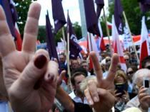 Thousands in Poland protest government moves on judiciary