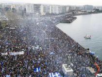 Over 100,000 Greeks in rally name dispute neighbor Macedonia