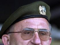 Serbian war criminal applauded at military academy