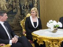 Slovenia: Pahor meets with Mattarella and Grabar-Kitarovic