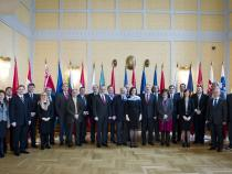 1st Meeting of the CEI National Coordinators (CNC), Budapest, 22 January 2013 - Family Photo