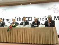 CEI Ministers for Foreign Affairs Meeting (Ohrid, 15 June 2015)