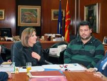 CEI SG meets Macedonian Minister for Culture, Elizabeta Kanceska-Milevska (Skopja, 17 Oct. 2014)