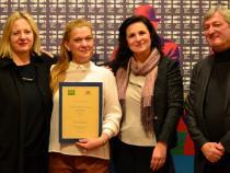 CEI Award at Trieste Film Festival (Trieste, 25 January 2018)