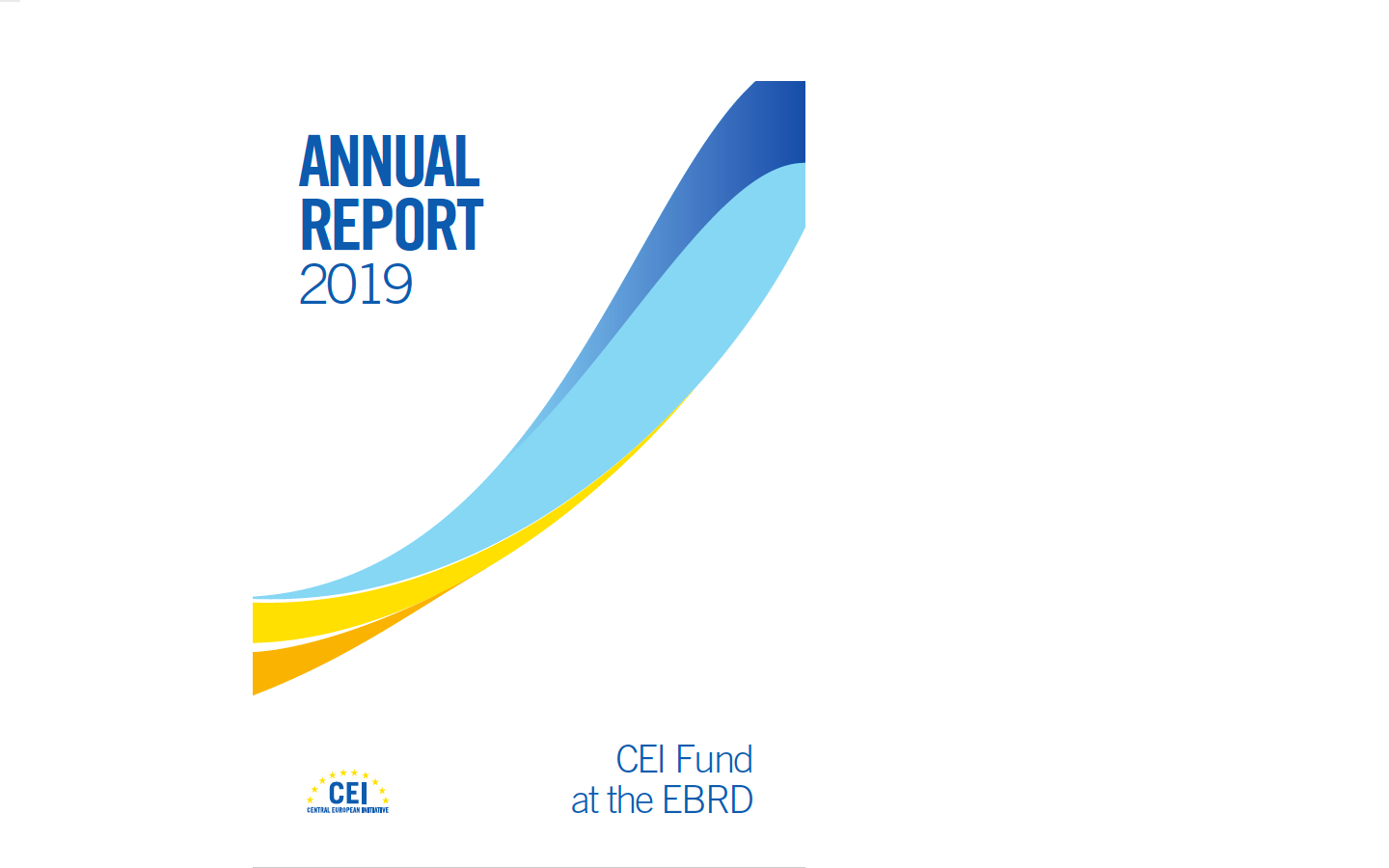 Annual Report 2019 of the CEI Fund at EBRD
