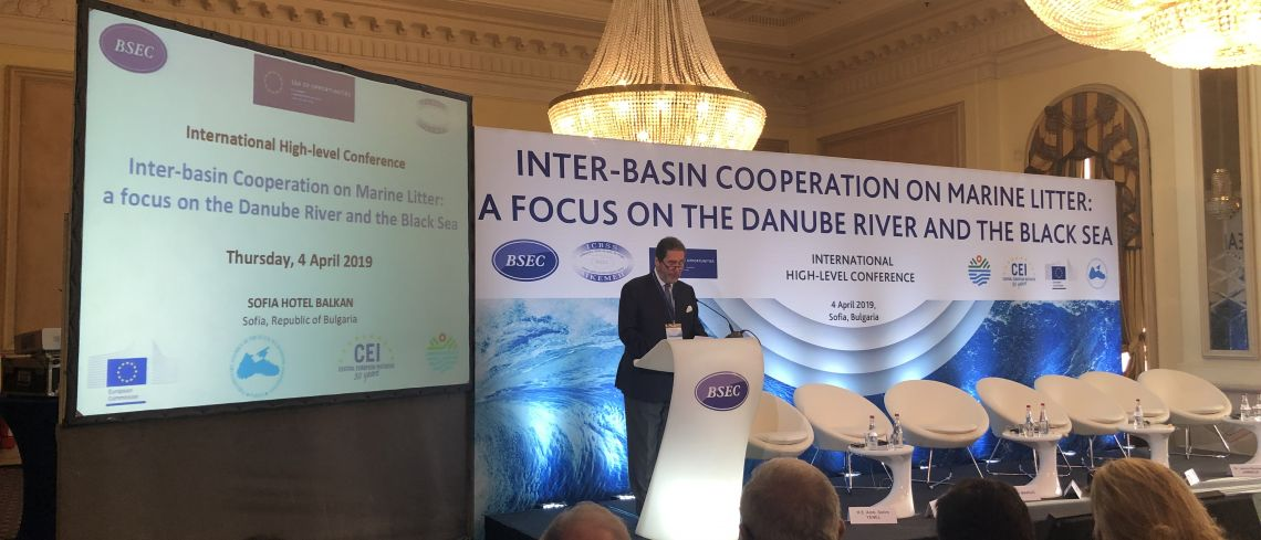 "nternational high-level Conference on ""Inter-basin Cooperation on Marine Litter: a focus on the Danube River and the Black Sea"" (Sofia 4 April 2019)"