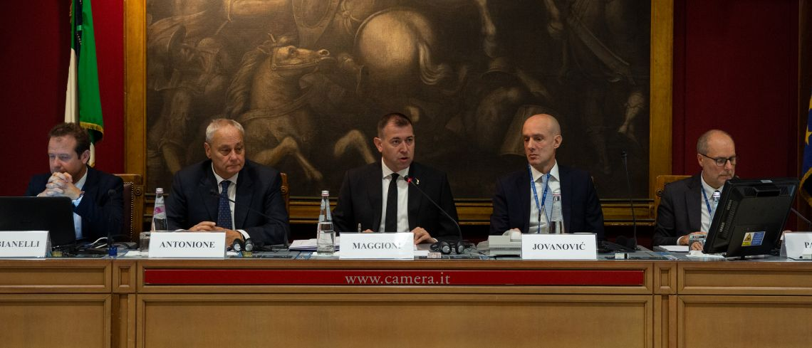 CEI Parliamentary Assembly (Rome, 7-8 Nov. 2019)