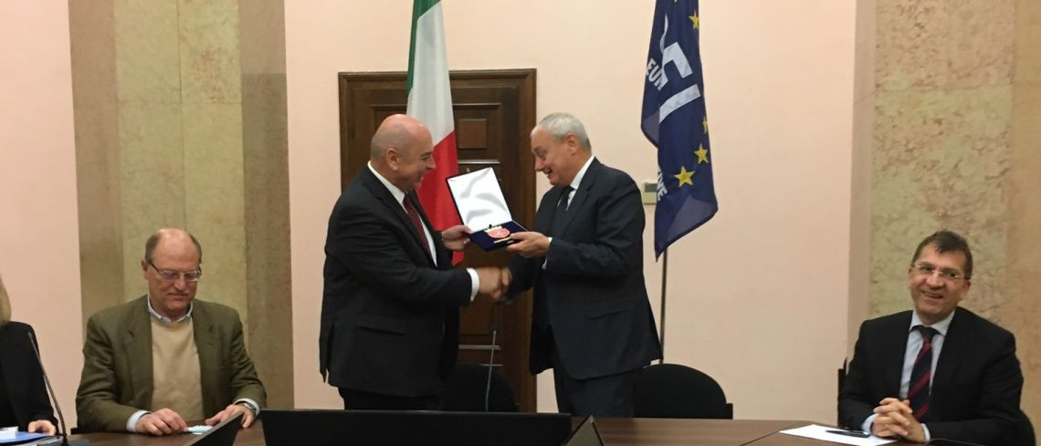 Mayor Roberto Dipiazza visits CEI Executive Secretariat (Trieste HQ, 11 Nov. 2019)