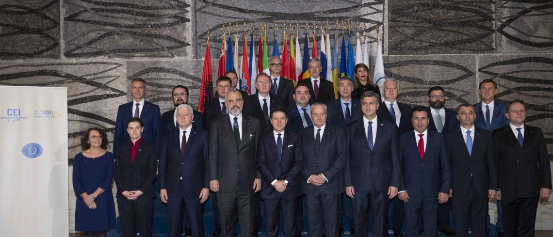 CEI Summit (Rome, 19 Nov. 2019)