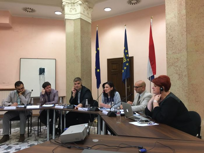 Press freedom in South East Europe debate at CEI HQ (Trieste, 29 June 2018)