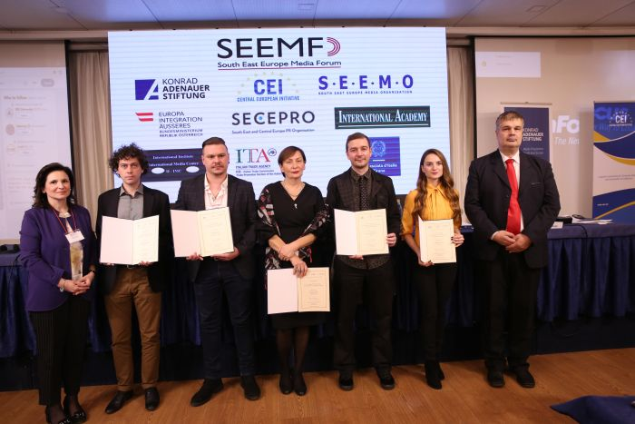 CEI SEEMO Award winners 2018