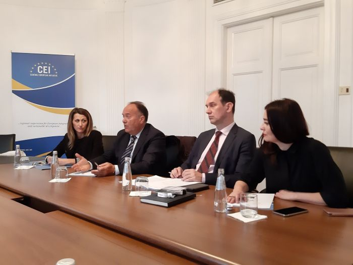 Serbian Min. Mladen Sarcevic (Education, Science & Technological Development) visits CEI-ES (13, Dec. 2019)