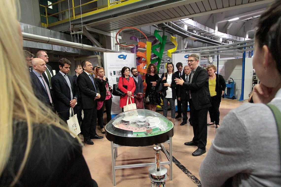 Visit to Elettra Sincrotrone Trieste (4 October 2018) - by Massimo Goina