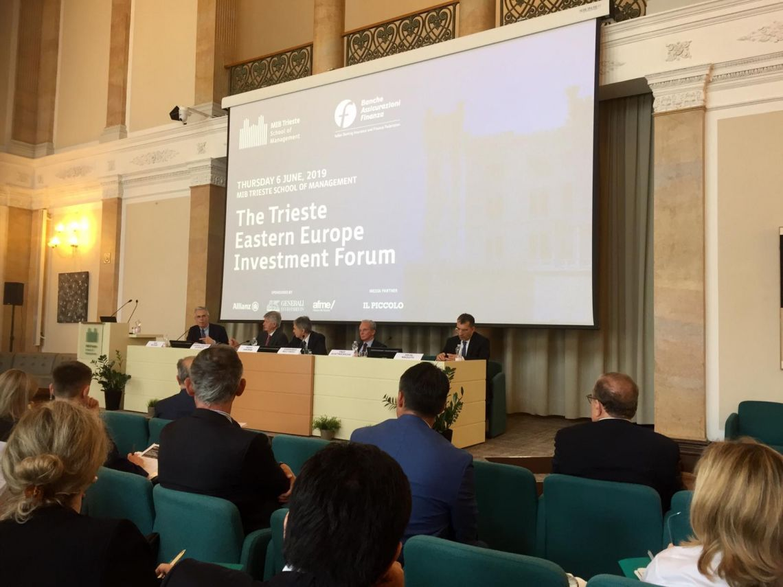 CEI ASG Nikoletti at Trieste Eastern Europe Investment Forum 2019,Trieste 6 June 2019